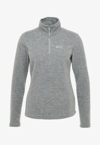 Jack Wolfskin - GECKO WOMEN - Fleece jumper - slate grey
