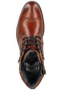 Bugatti - LUSSORIO - Lace-up ankle boots - cognac - 1