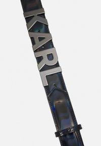 KARL LAGERFELD - LETTERS BELT - Belt - black - 4