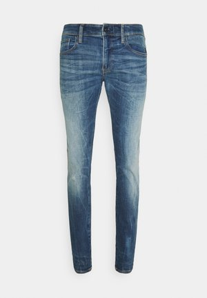 REVEND SKINNY ORIGINALS - Skinny džíny - heavy elto pure superstretch-antic faded baum blue