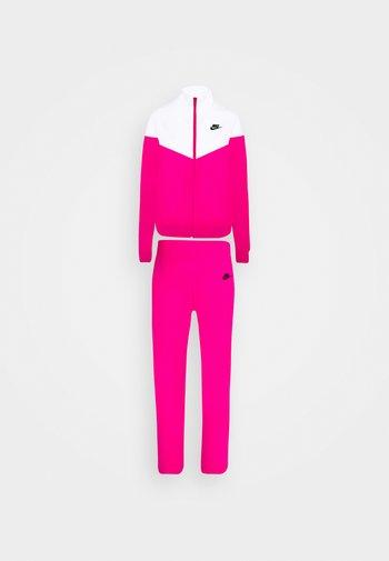 TRACK SUIT SET - Sweatjakke - pink glaze/white/black