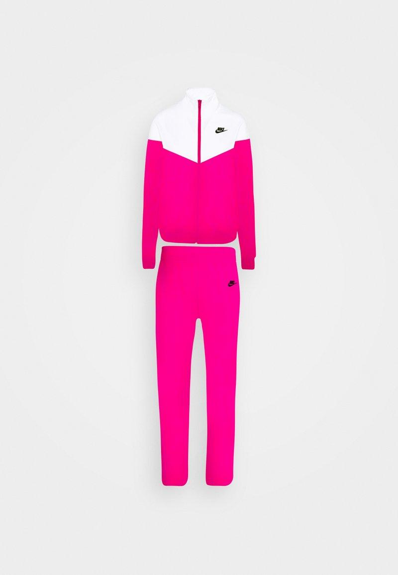 Nike Sportswear - TRACK SUIT SET - Sweatjakke - pink glaze/white/black