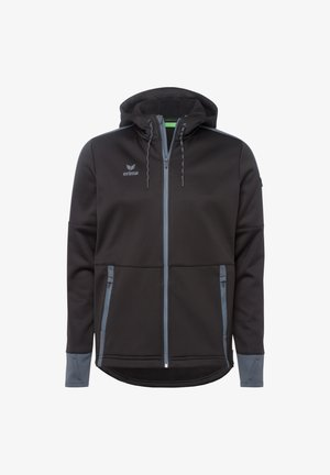 Soft shell jacket - schwarzgrau