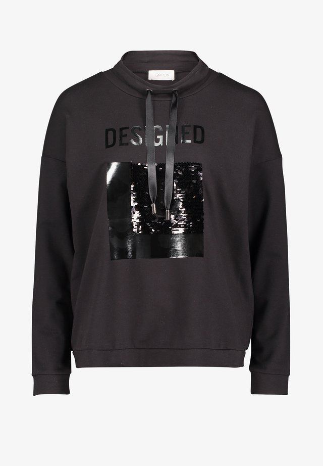 Sweatshirt - schwarz/schwarz
