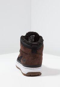 Park Authority - Sneakers hoog - dark brown/black - 3