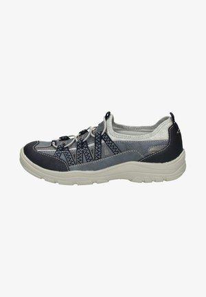 Sznurowane obuwie sportowe - blue