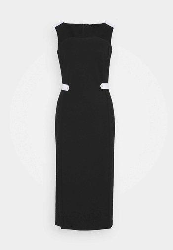 ABITO - Shift dress - nero/bianco