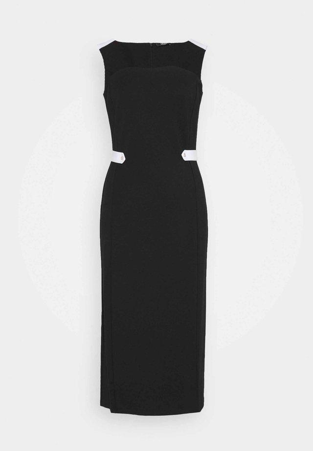 ABITO - Etui-jurk - nero/bianco