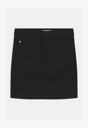 NKFSALLI - Denim skirt - black denim