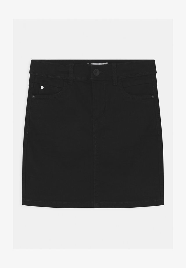 NKFSALLI - Denim skirt - black denim