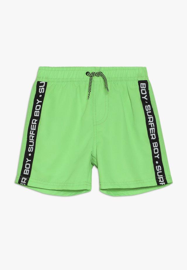 BEACH BERMUDA - Swimming shorts - neon grun