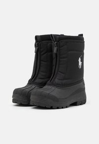 Polo Ralph Lauren - QUILO ZIP UNISEX - Winter boots - black/grey - 1