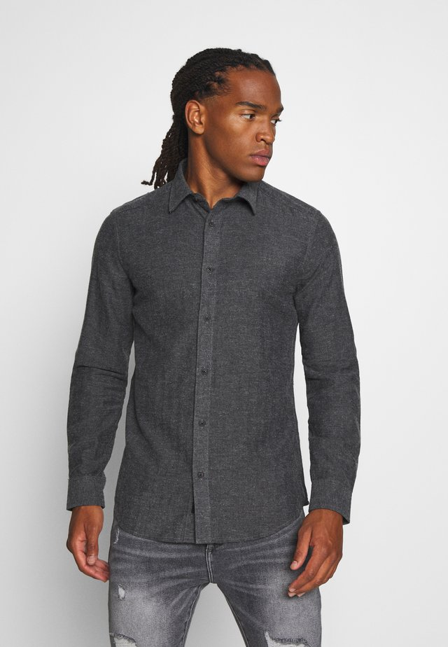 ONSBRAD HERRINGBONE - Koszula - medium grey melange