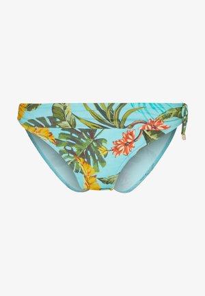 MERENDA BANANAS - Bikini bottoms - turquoise