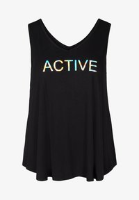 Active by Zizzi - Top - black holo - 3