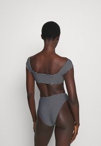 Seafolly - HIGH WAIST PANT - Bikini bottoms - black/white - 2