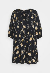 Pieces Curve - PCGLYDA WRAP DRESS CURVE - Day dress - black - 0