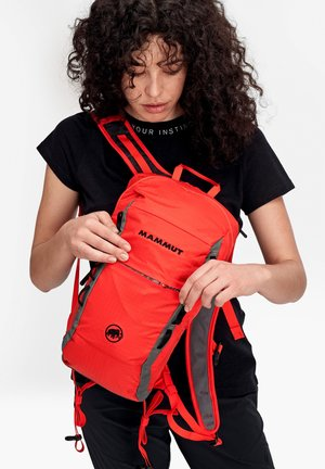 NEON LIGHT - Hiking rucksack - spicy