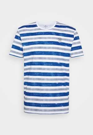 T-shirt con stampa - white-bold/watery