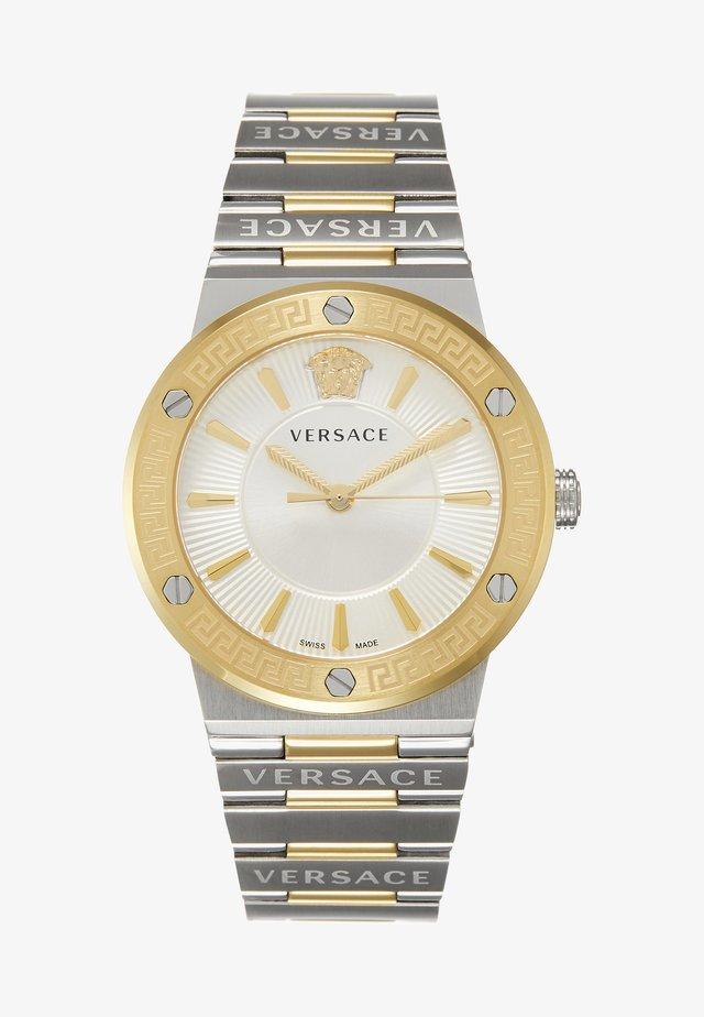 GRECA LOGO - Watch - silver-coloured/gold-coloured