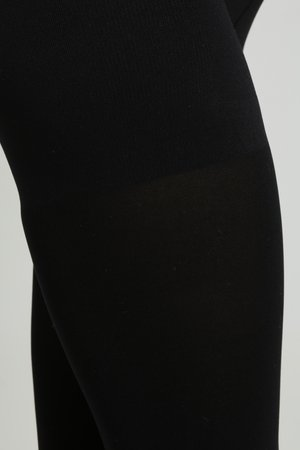 HIGH WAISTED - Tights - black
