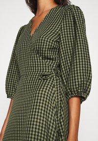 Minimum - ELMINA - Day dress - dark olive - 6