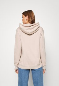 Abercrombie & Fitch - GEL LOGO SNAP POPOVER - Hoodie - pink - 2