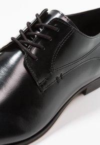 H by Hudson - CRAIGAVON - Business sko - black - 5