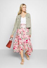 Taifun - LANG - Maxi skirt - apricot blush - 1