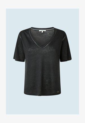 ANETTES - T-shirt basique - charcoal