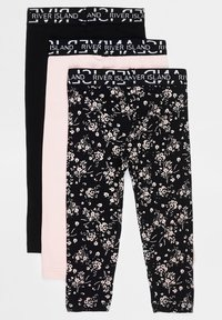River Island - 3 PACK - Leggings - Trousers - black - 1
