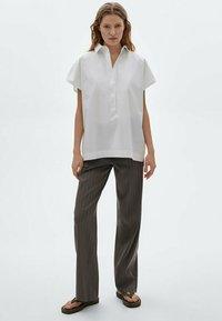 Massimo Dutti - Polo shirt - white - 0