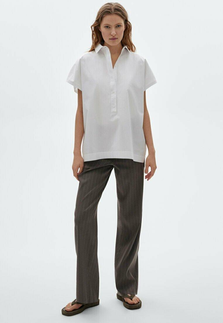 Massimo Dutti - Polo shirt - white