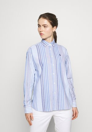 LONG SLEEVE - Blouse - run on blue