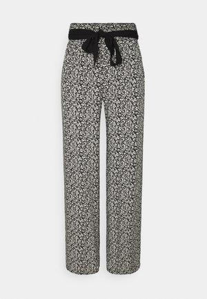BELT PANTS - Pyjama bottoms - white