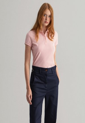 Polo shirt - preppy pink