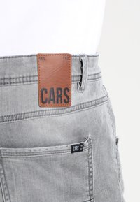 Cars Jeans - PRINCE - Straight leg jeans - grey used - 4