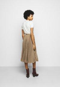 Polo Ralph Lauren - RESE SKIRT - A-line skirt - brown/tan houndst - 2