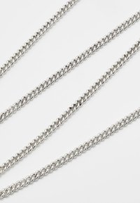 Icon Brand - LUXE SHORT CHAIN - Necklace - silver-coloured - 4