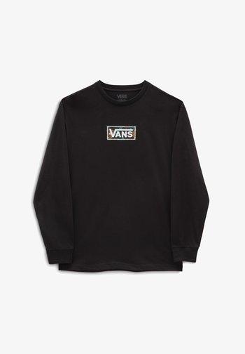 MN AUTUMN CLASSIC BOX LS - Långärmad tröja - black