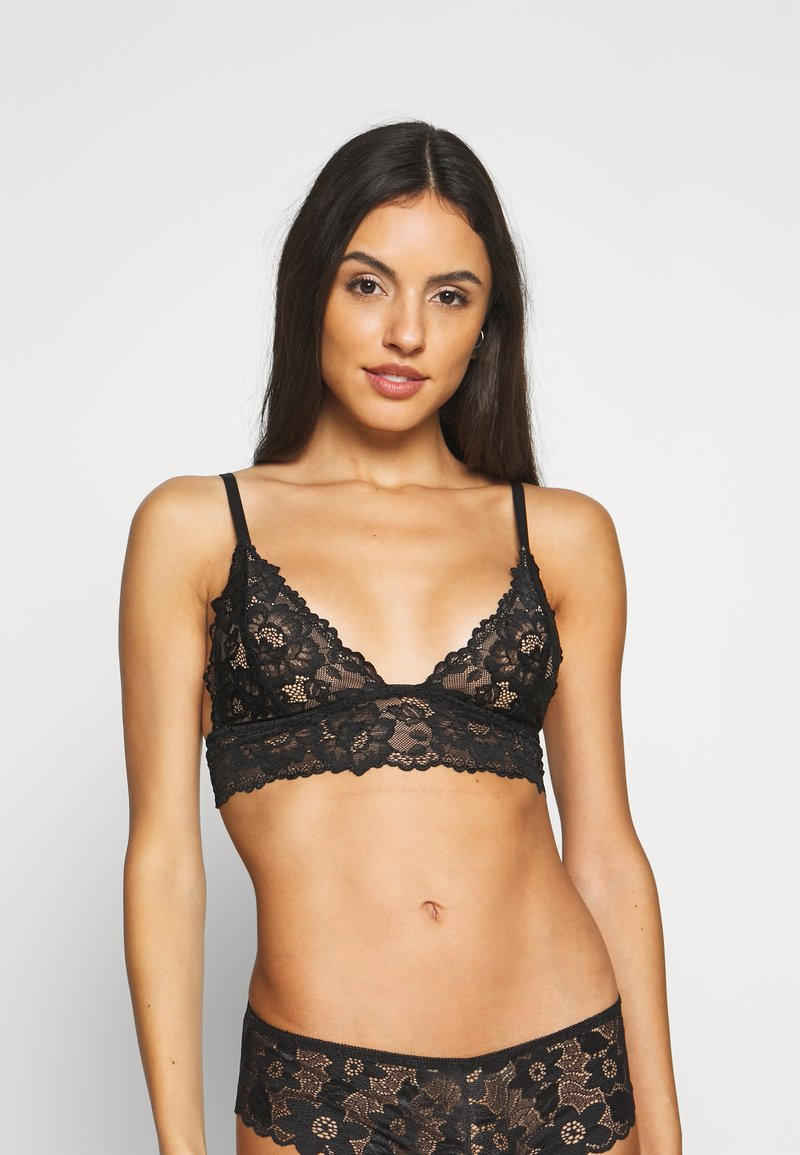 Nly by Nelly - Triangle bra - black