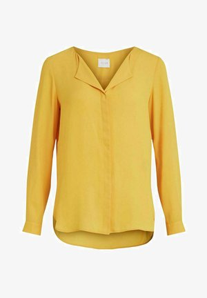 Blouse - spicy mustard