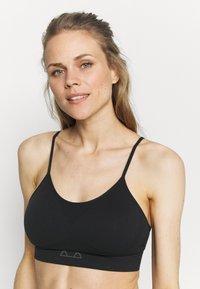 Ellesse - CERELIA BRA - Light support sports bra - black - 3
