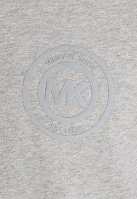 Michael Kors - PEACHED LONGSLEEVE - Pyjama top - heather grey - 2