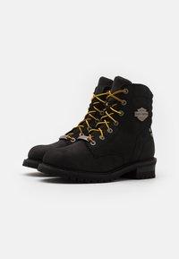Harley Davidson - HEDMAN - Lace-up ankle boots - black - 1