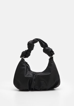 KNOTTED SHOULDER - Kabelka - black