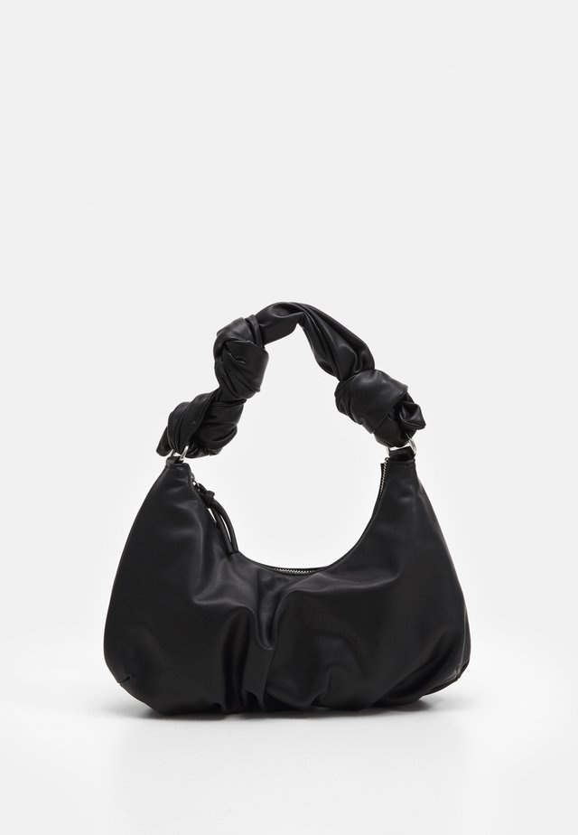 KNOTTED SHOULDER - Sac à main - black