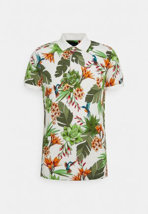 HUMMING GARDEN RUGGER - Polo shirt - eggshell