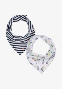 s.Oliver - 2 PACK - Bib - dark blue stripes/white aop - 0