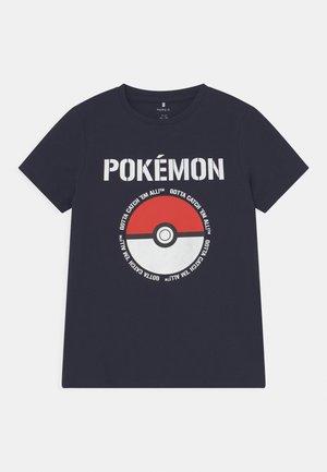 NKMPOKEMON NIAL  - T-shirt imprimé - dark sapphire